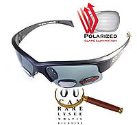 Бифокальные солнцезащитные очки BluWater Bifocal-2 (+2.5) с поляризацией черные, фото 1