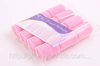 Бигуди для волос поролоновые  Y.R.E. Foam rollers Professional BG-06-07/195 (Б01172)/04-1