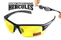 Защитные спортивные очки Global Vision Hercules-7 с желтыми линзами, фото 1