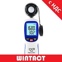 Люксметр - измеритель уровня освещенности + термометр WINTACT WT81