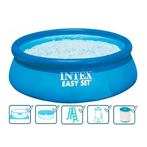 Надувний басейн наливна Intex 26176/28176 круглий 549х122см