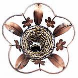 Ваза плетеная декор цветочек, цвет микс 62 см, фото 3