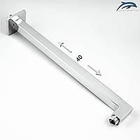 Кронштейн для верхней душевой лейки DS-02 из нержавеющей стали.