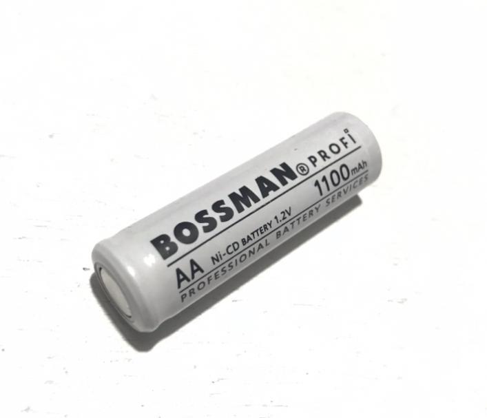 Аккумулятор технический Bossman-Profi AA/HR6 1,2V 1100mAh (Ni-Cd)