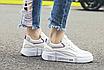 Кроссовки женские Look Белые с фиолетовым, фото 2