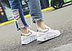 Кроссовки женские Look Белые с фиолетовым, фото 3