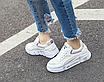 Кроссовки женские Look Белые с фиолетовым, фото 4