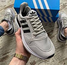 Мужские кроссовки Adidas ZX 500 RM Grey, адидас зх 500, фото 3