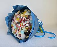 Букет из зефира и конфет Киндер, Чупа Чупсов, мармелада