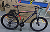 ⭐✅ Горный Велосипед Azimut Spark 29 D (19 рама) ЧЕРНО-СИНИЙ, фото 7