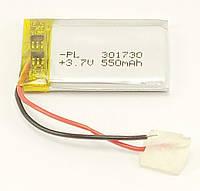 Литий-полимерный аккумулятор Li-pol 301730, 550mAh 3.7V 1 шт.