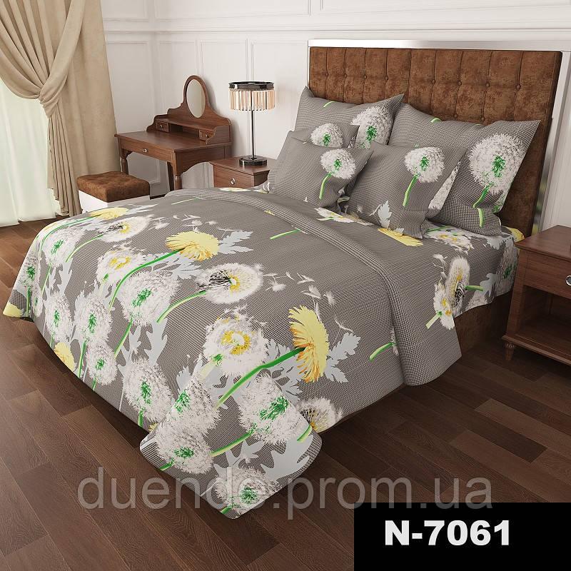 Комплект постельного белья Gold Одуванчики 1 / G - 7061-A-B