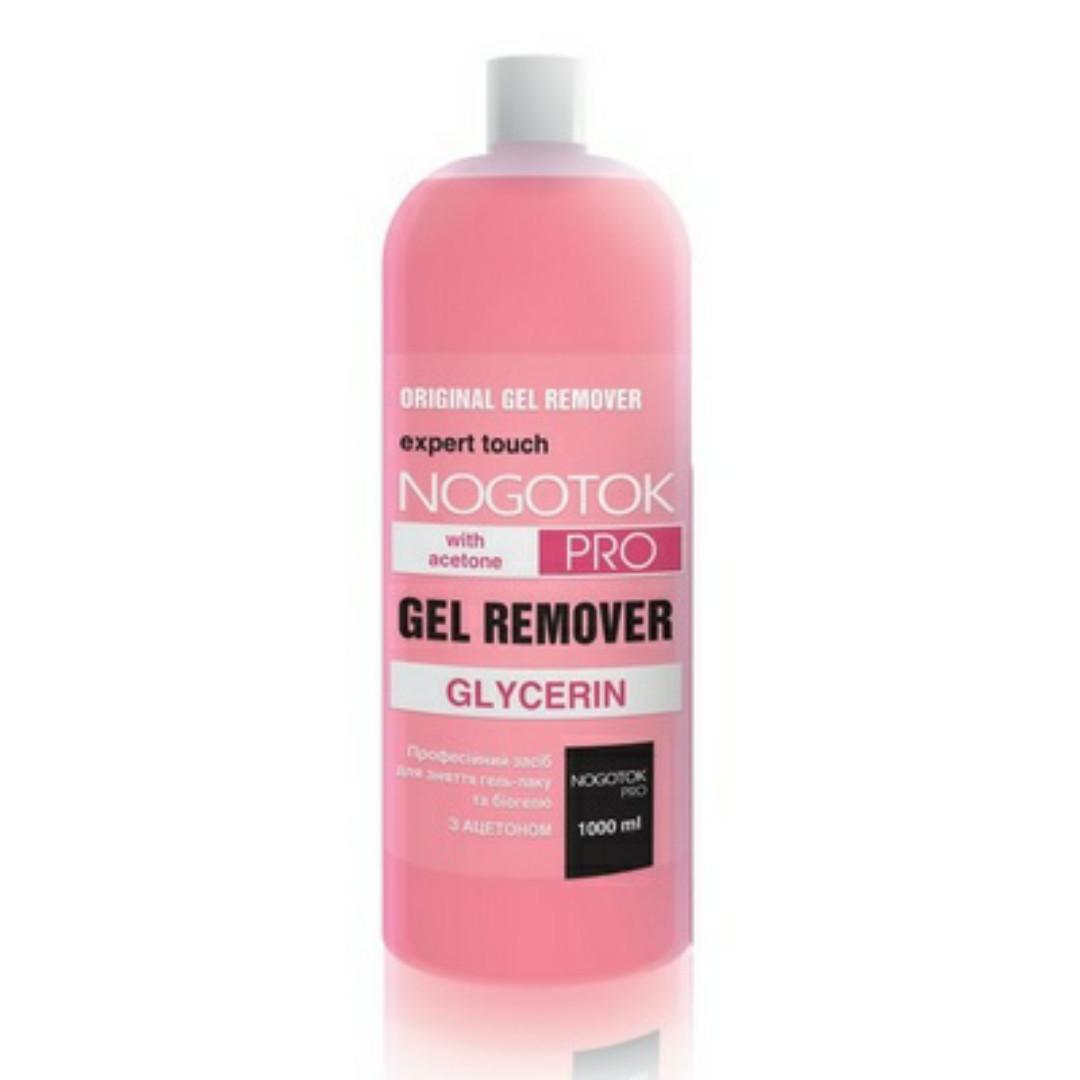 Жидкость для снятия гель-лака, био-геля Nogotok Gel Remover, 1000 мл