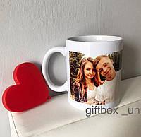 Чашка з вашим фото