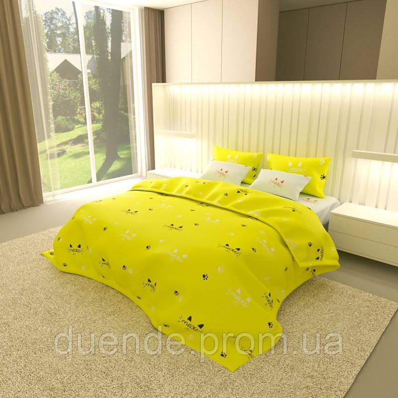 Комплект постельного белья Gold / G - 7555-A-B