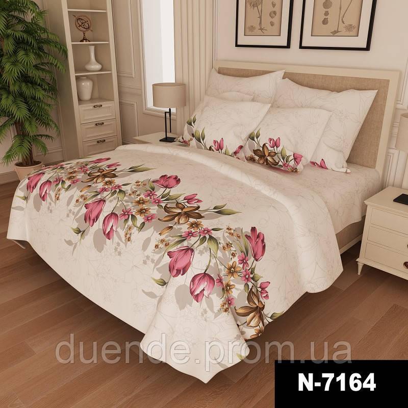 Комплект постельного белья Gold / G - 7164-pink