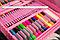 Большой детский набор для рисования Super Art Set, 208 предметов, с креплениями, два цвета, фото 4