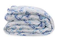 Одеяло Био Пух Leleka-Textile Полуторный 140х205 Перышки SKL53-239818