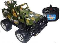 """Машинка """"Джип"""" на радиоуправлении HQ3010 (военная машина)"""