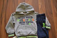Костюмы тёплые на байке для мальчиков,размеры 6/9-36 месяцев,Фирма SINCERE, фото 1