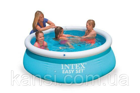 Басейн Intex надувний дитячий 28101 Easy Set Pool 183х51см