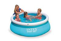 Басейн Intex надувний дитячий 28101 Easy Set Pool 183х51см, фото 1