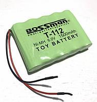 Аккумуляторная сборка Bossman-Profi T-112 6V 1500mAh (Ni-Mh)