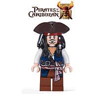 "Лего фигурка Пираты Карибского моря ""Джек Воробей"" / Pirates of the Caribbean"