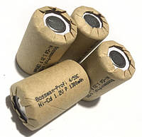 Аккумулятор технический Bossman 4/5 Sub C/ HR14 1300mAh (1300SCK-S1) с контактами