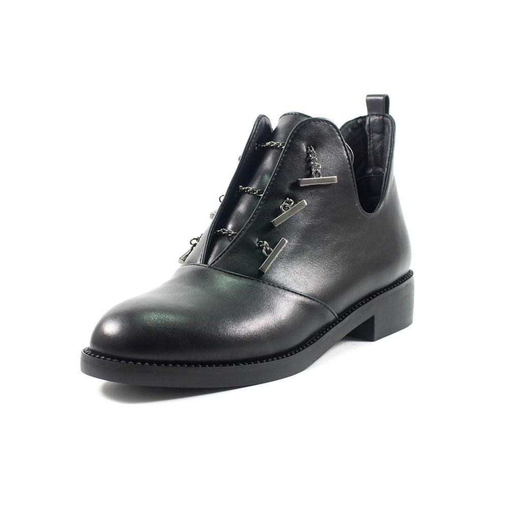 Ботинки демисезон женские Fabio Monelli B1615-M4100 черные (39)