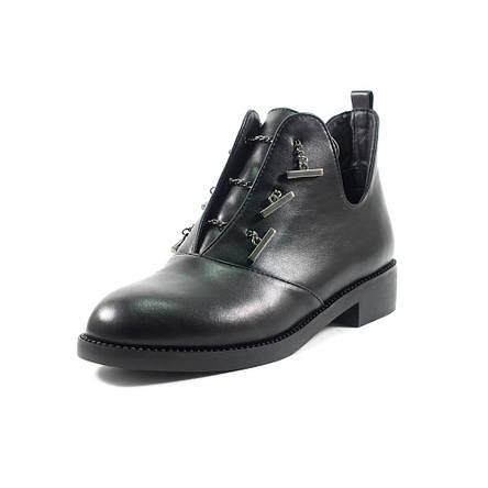 Ботинки демисезон женские Fabio Monelli B1615-M4100 черные (39), фото 2