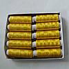 Нитки шелковые желтое золото