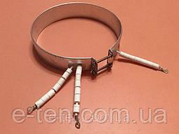 Тэн (нагреватель) для ТЕРМОПОТА - Ø165мм / 750W / 220V (3 контакта с керамическими изоляторами)