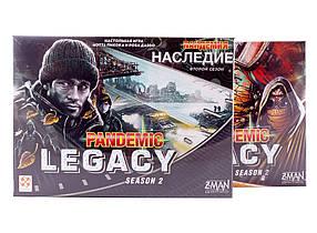 Настольная игра Пандемия: Наследие (второй сезон)(чёрная)