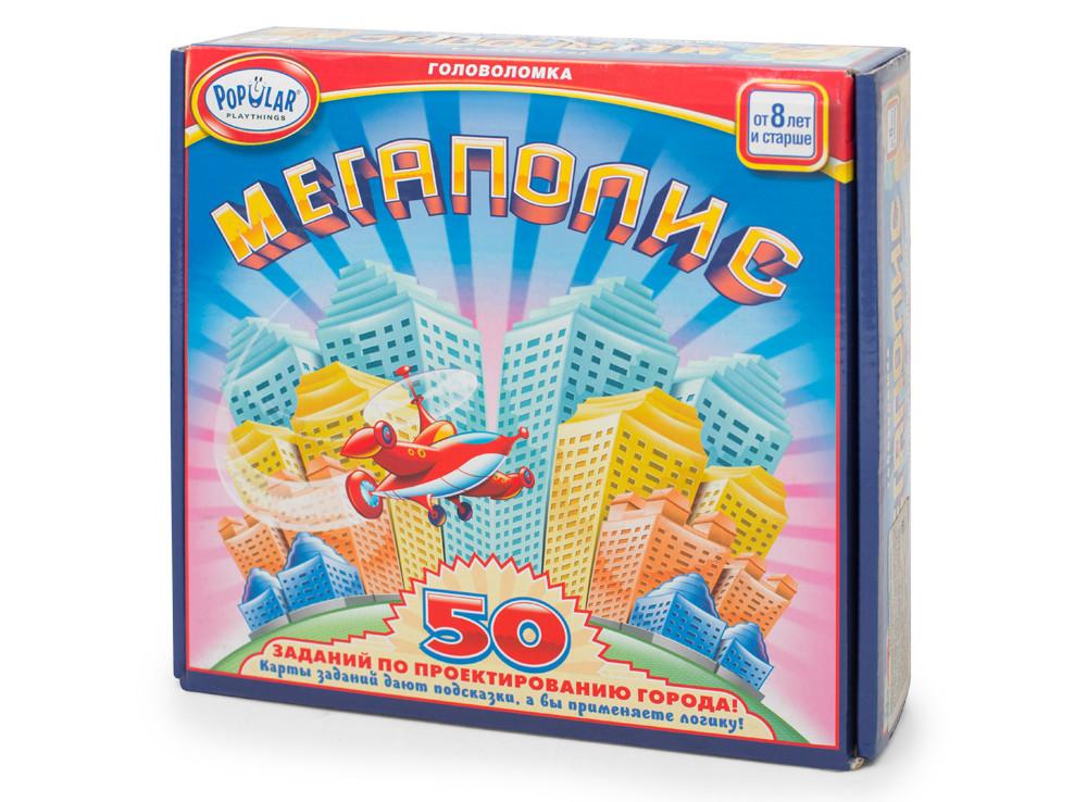 Настольная игра-головоломка Мегаполис