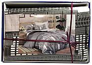 """Двоспальний комплект (Сатин) постільної білизни """"Королева Ночі"""", фото 4"""