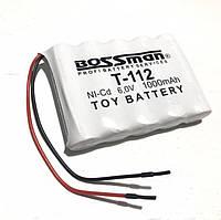Аккумуляторная сборка Bossman-Profi T-112 6V 1000mAh (Ni-Cd)