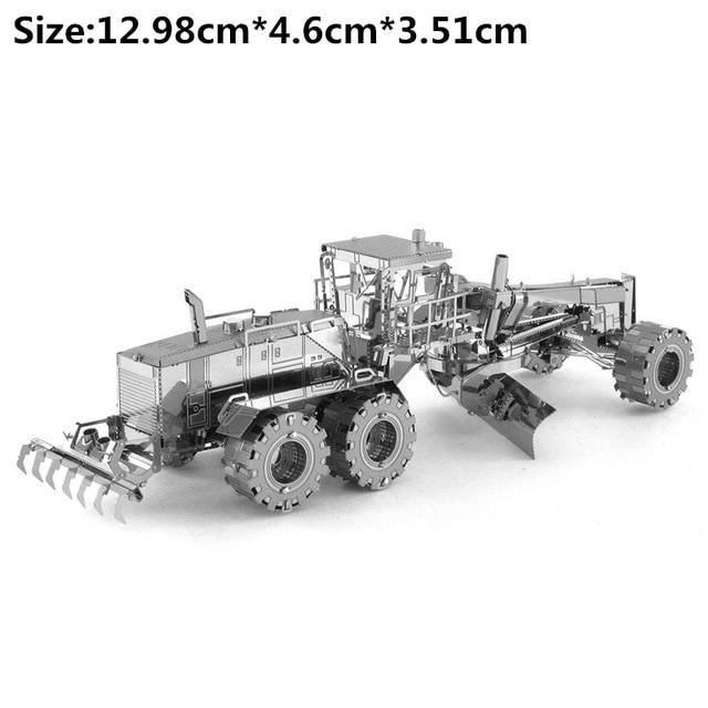 Пазл-головоломка металева 3Д конструктор трактор