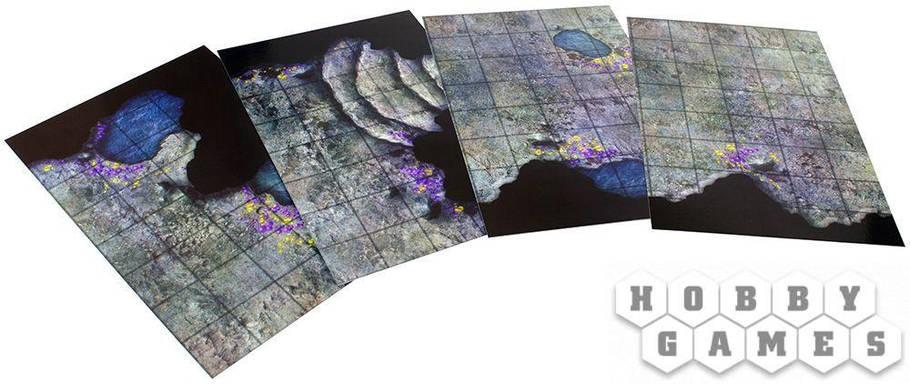 """Настольная игра Pathfinder. Игровое поле """"Пещеры"""", фото 2"""
