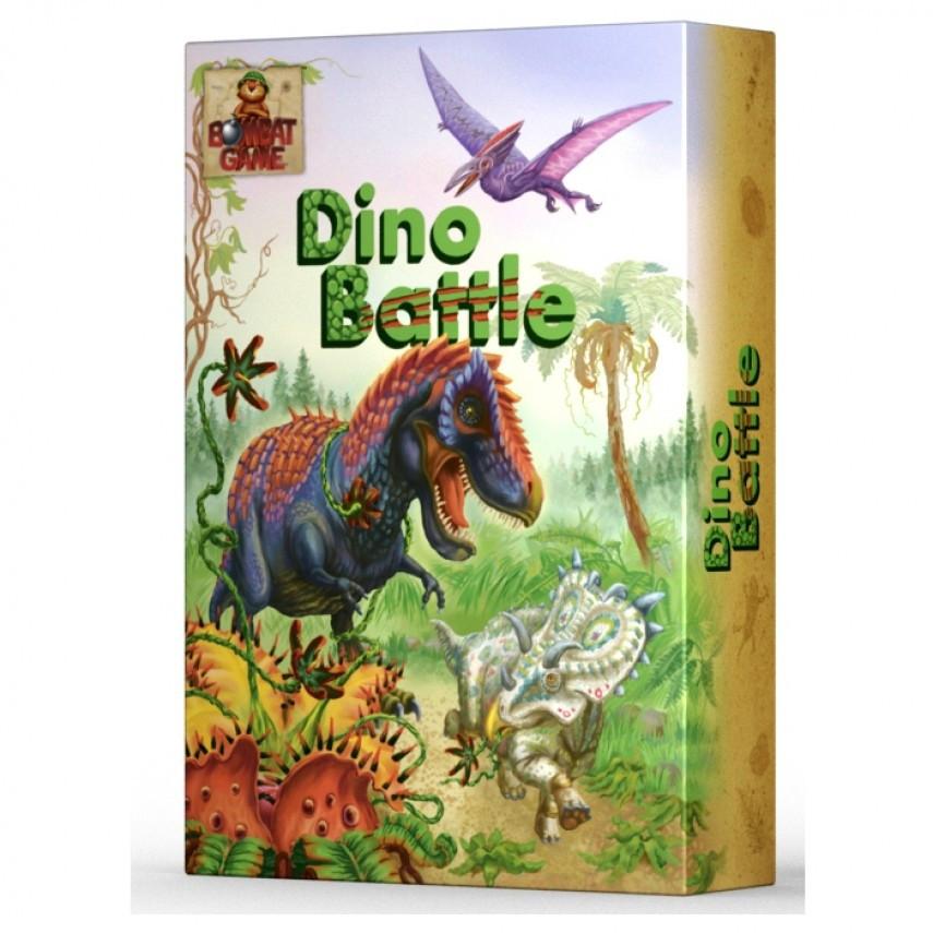 Настольная игра Dino Battle (Дино Батл)