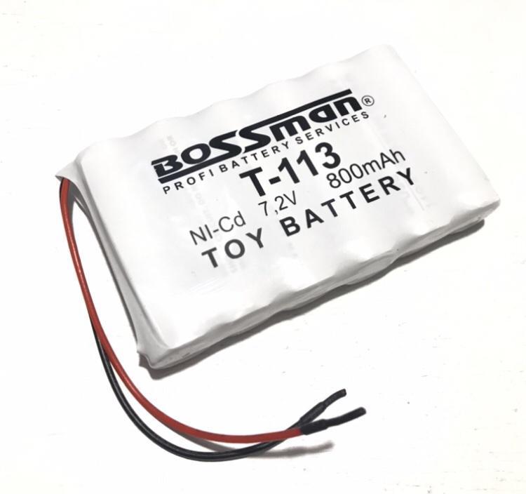 Аккумуляторная сборка Bossman-Profi T-113 7.2V 800mAh (Ni-Cd)