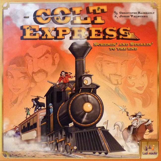 Настільна гра Кольт Експресс. Colt Express (українська версія)