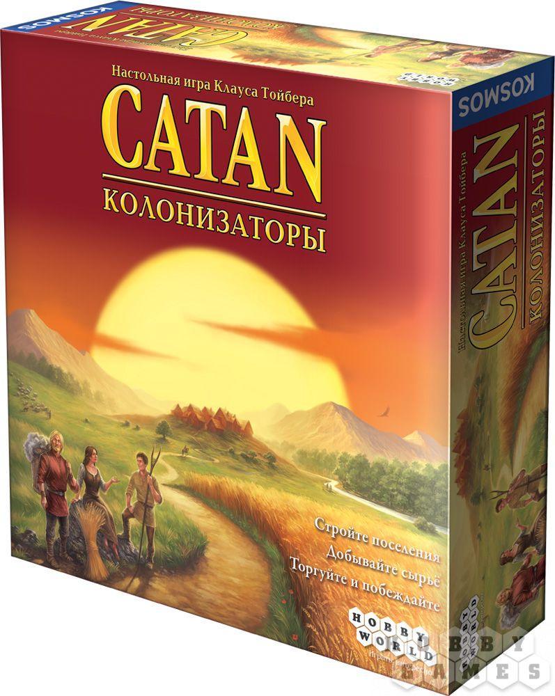 Настольная игра Catan (Колонизаторы) (4-е рос. вид.)