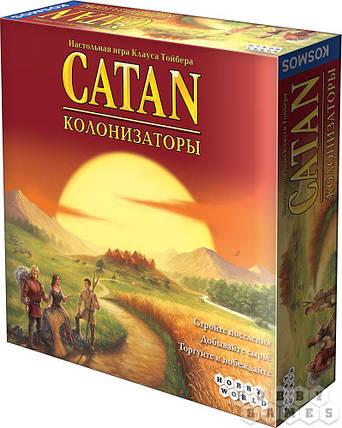 Настольная игра Catan (Колонизаторы) (4-е рос. вид.), фото 2