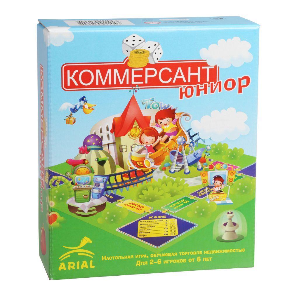 Настольная игра Коммерсант-юниор
