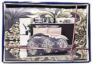 """Півтораспальний комплект постільної білизни """"Королева Ночі"""" Сатин, фото 3"""