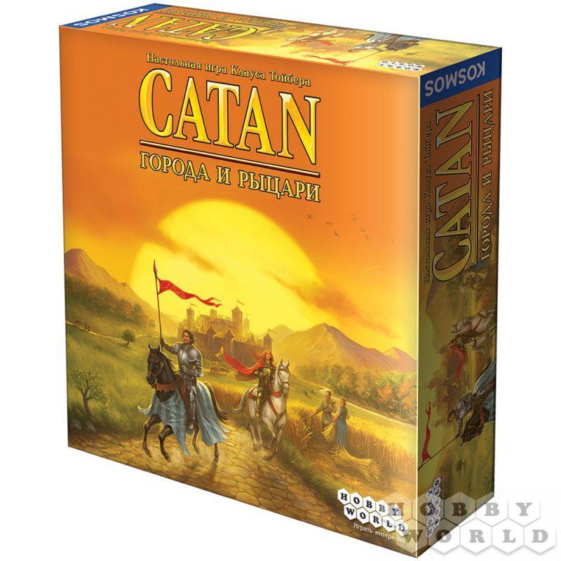 Настольная игра Catan. Колонизаторы: Города и рыцари (дополнение)