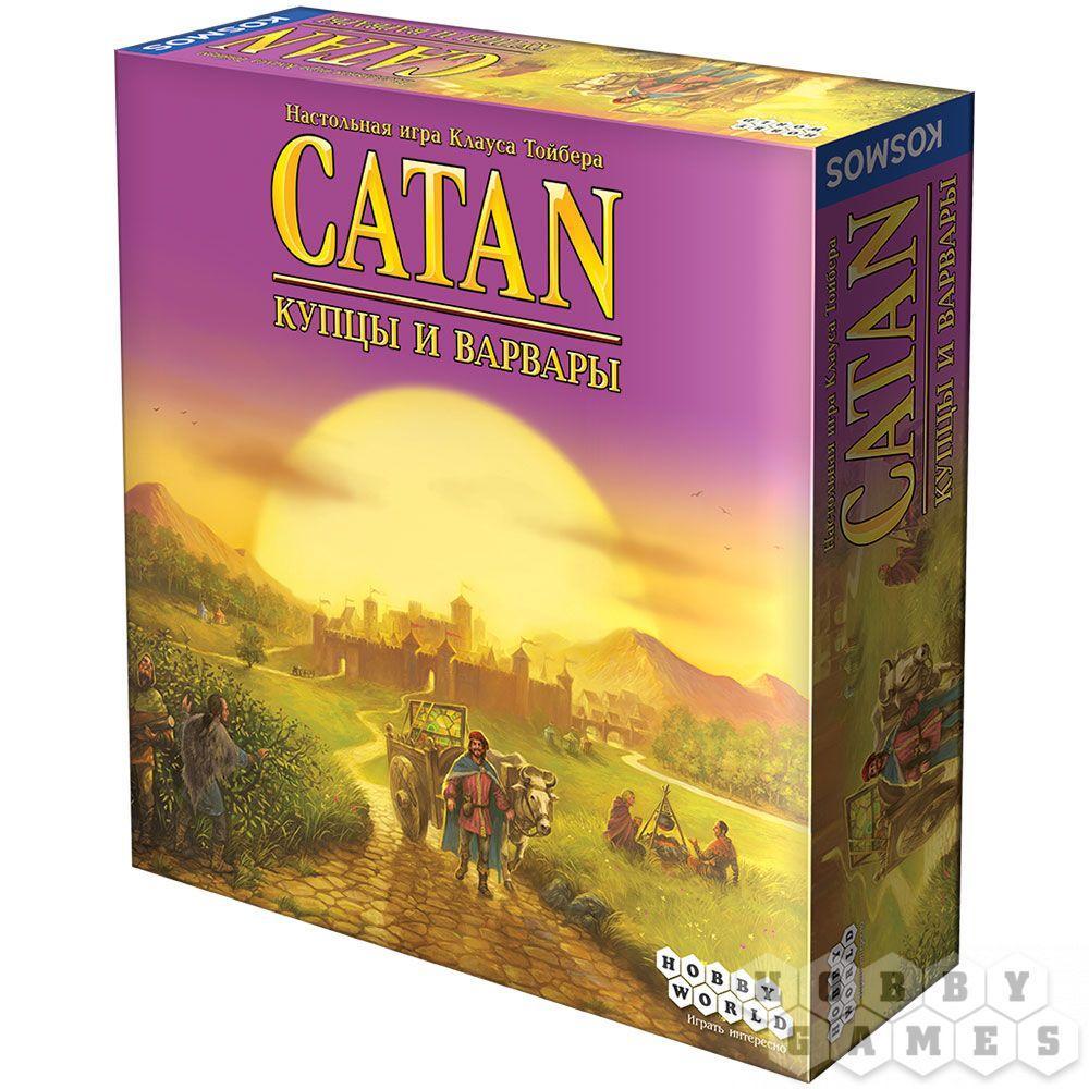 Настольная игра Catan. Колонизаторы: Купцы и варвары (дополнение)