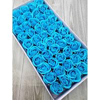Мыльная роза  голубая