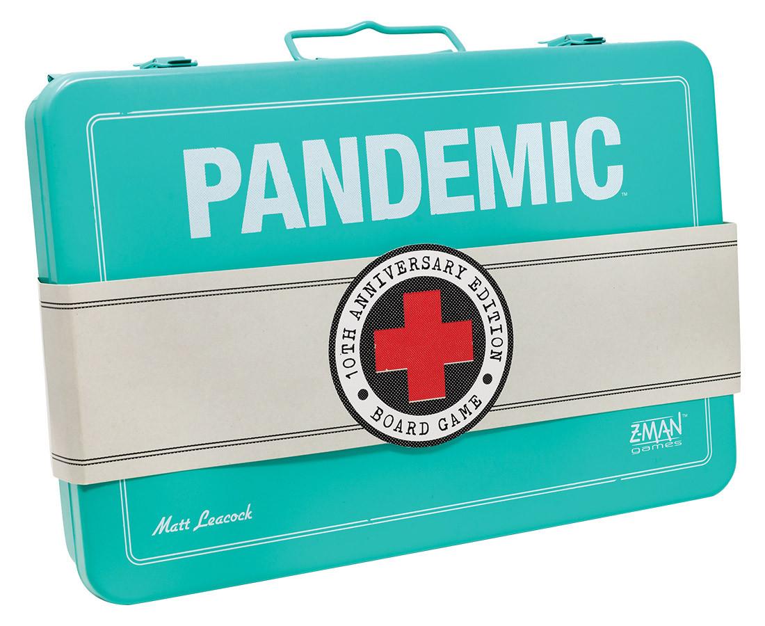 Настольная игра Pandemic 10th Anniversary Edition (на английском)